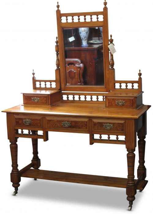 Huon pine dressing table