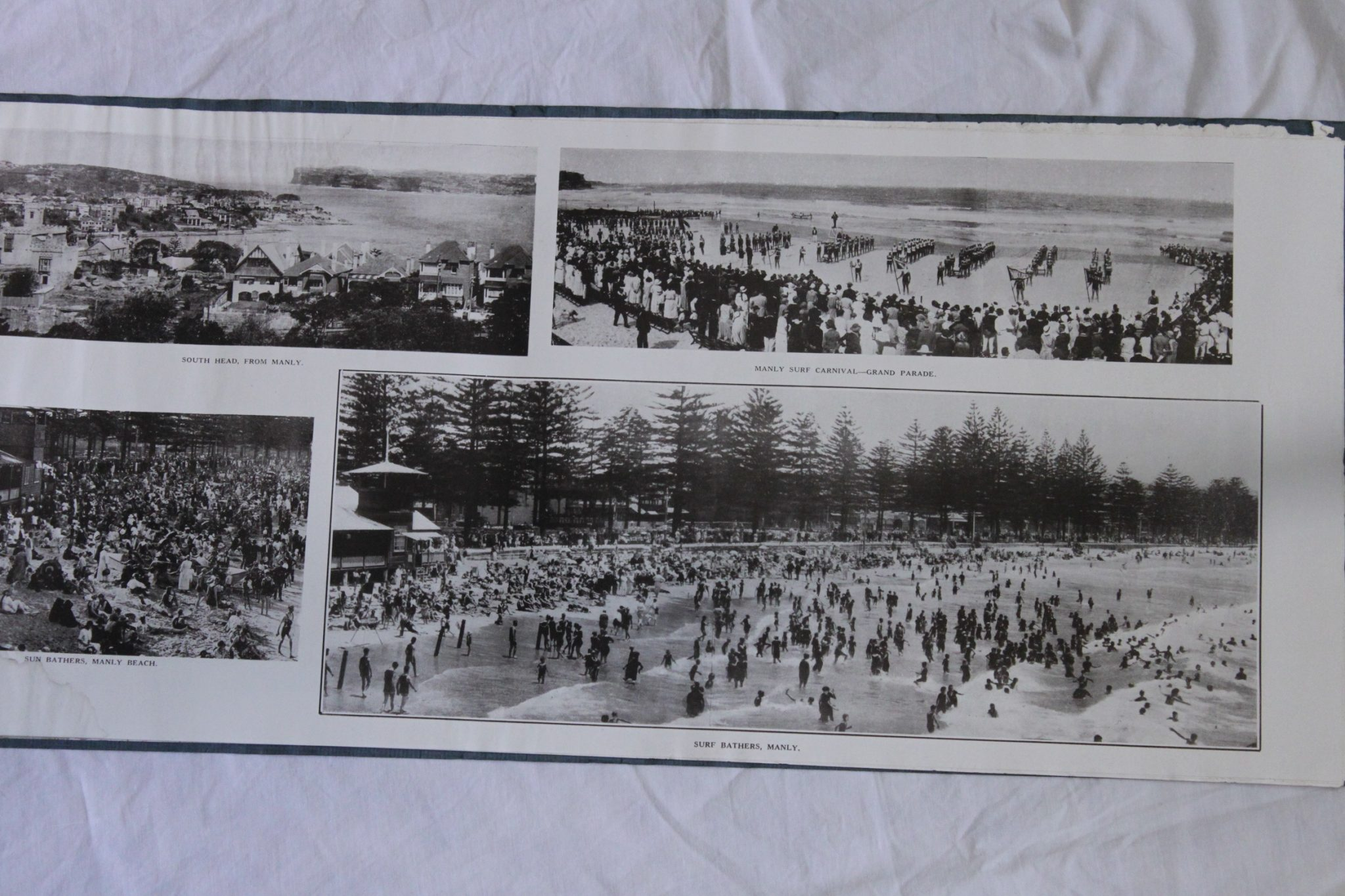 Manly, Pittwater and the Hawkesbury River photo souvenir