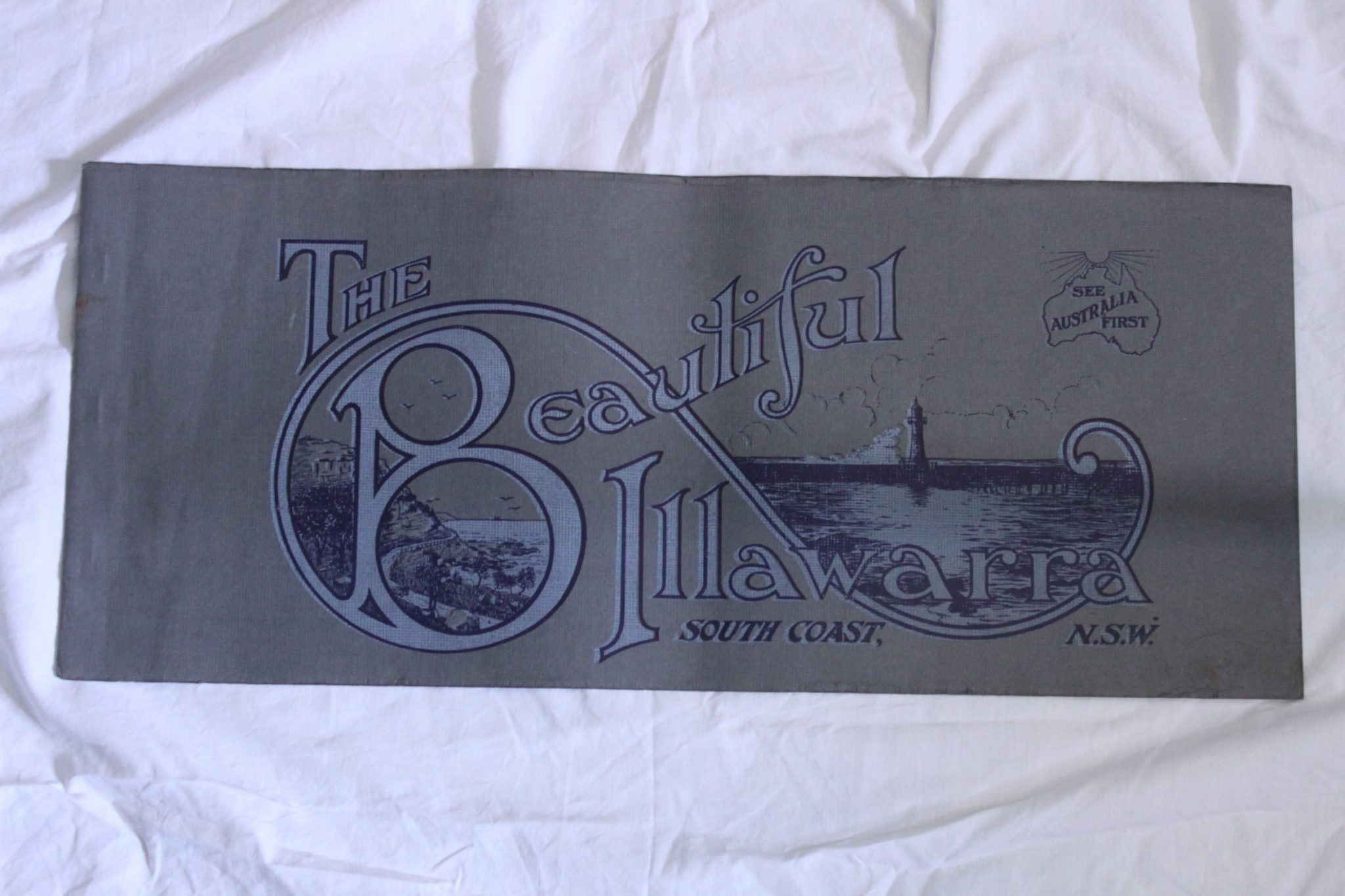 Mid 1920's travel brochure for the Illawarra
