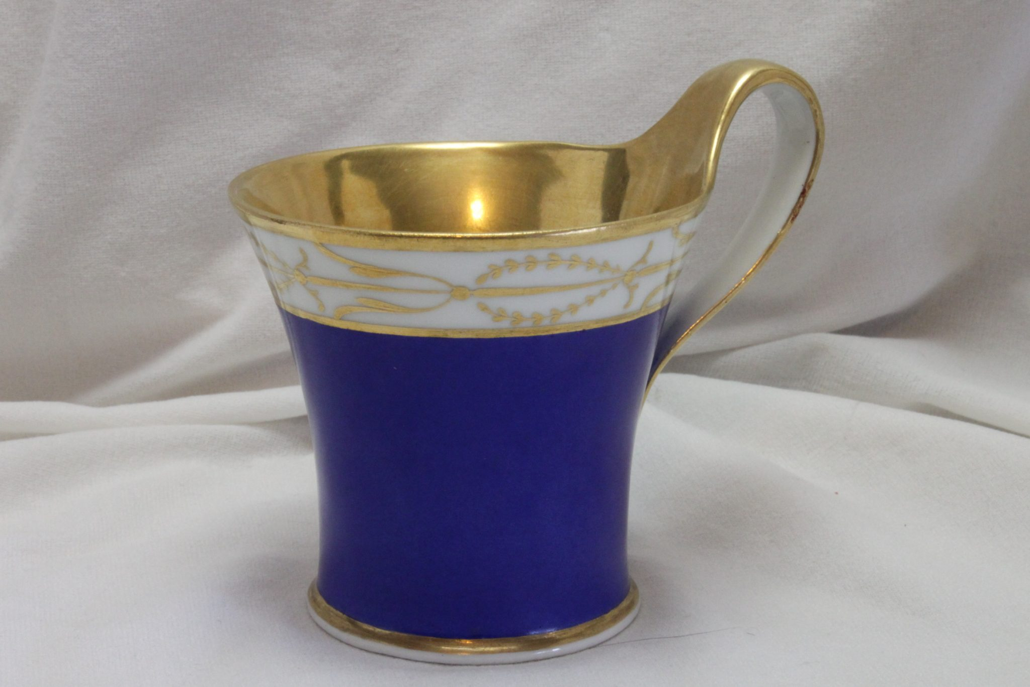 Berlin cobalt blue and gilt cup