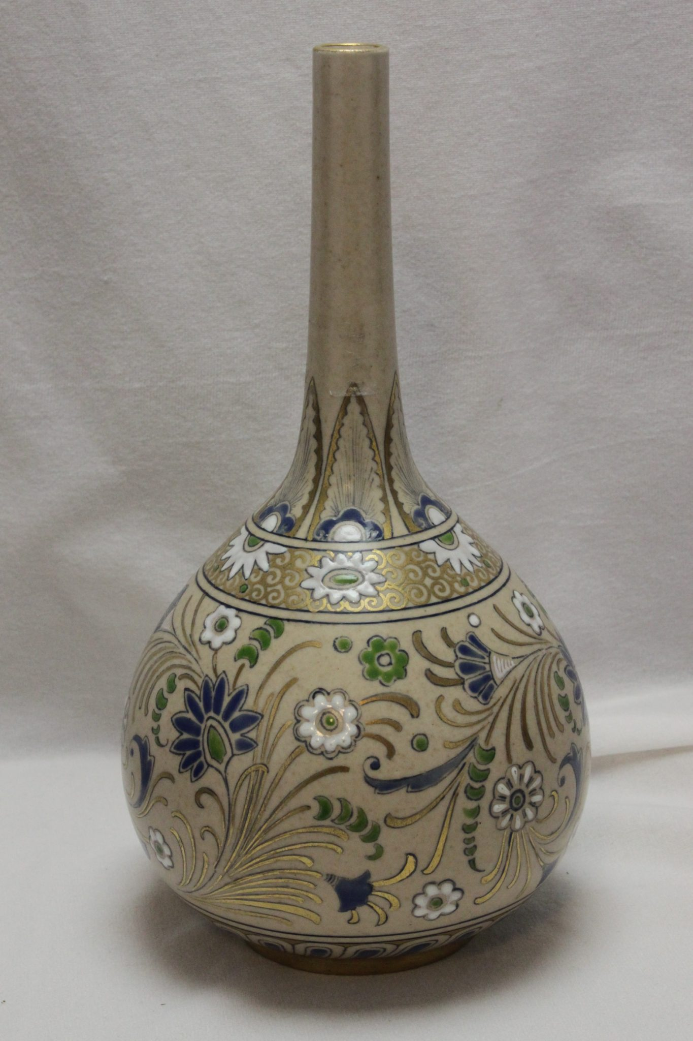 Doulton Lambeth Carrara Ware vase by Mildred Smallfield
