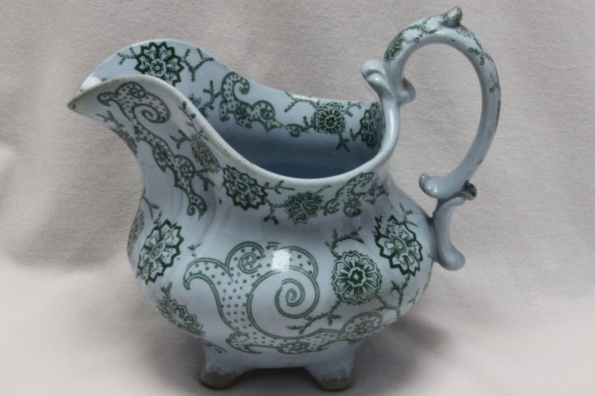 "William Ridgway jug ""Helical"" pattern"