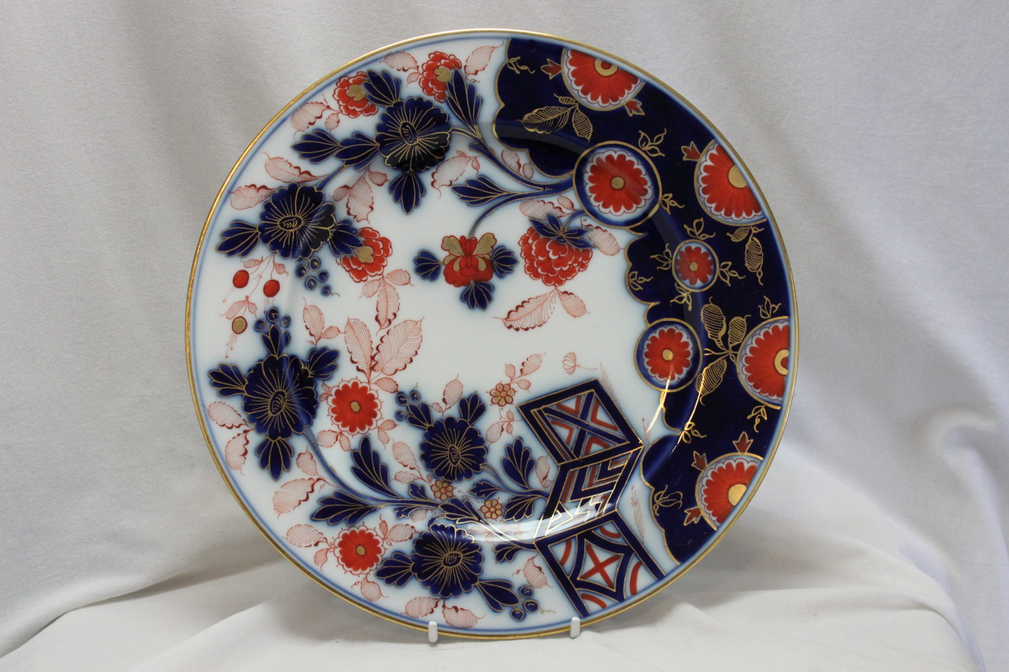 Fischer and Mieg Imari pattern plate