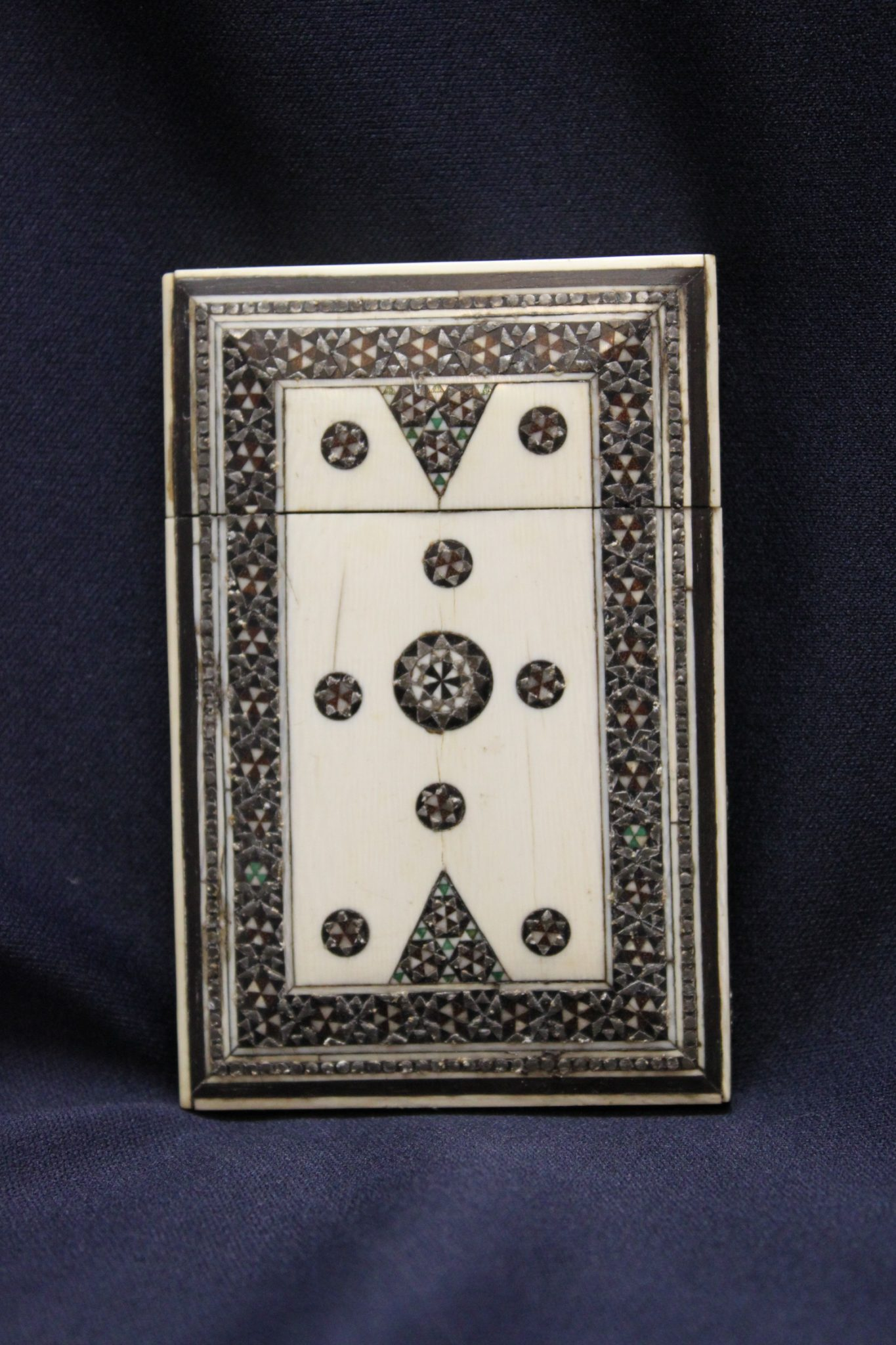 Sadeli mosaic work card case