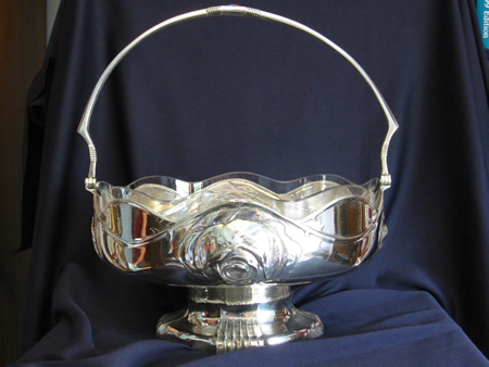 Orvit silver plated fruit bowl