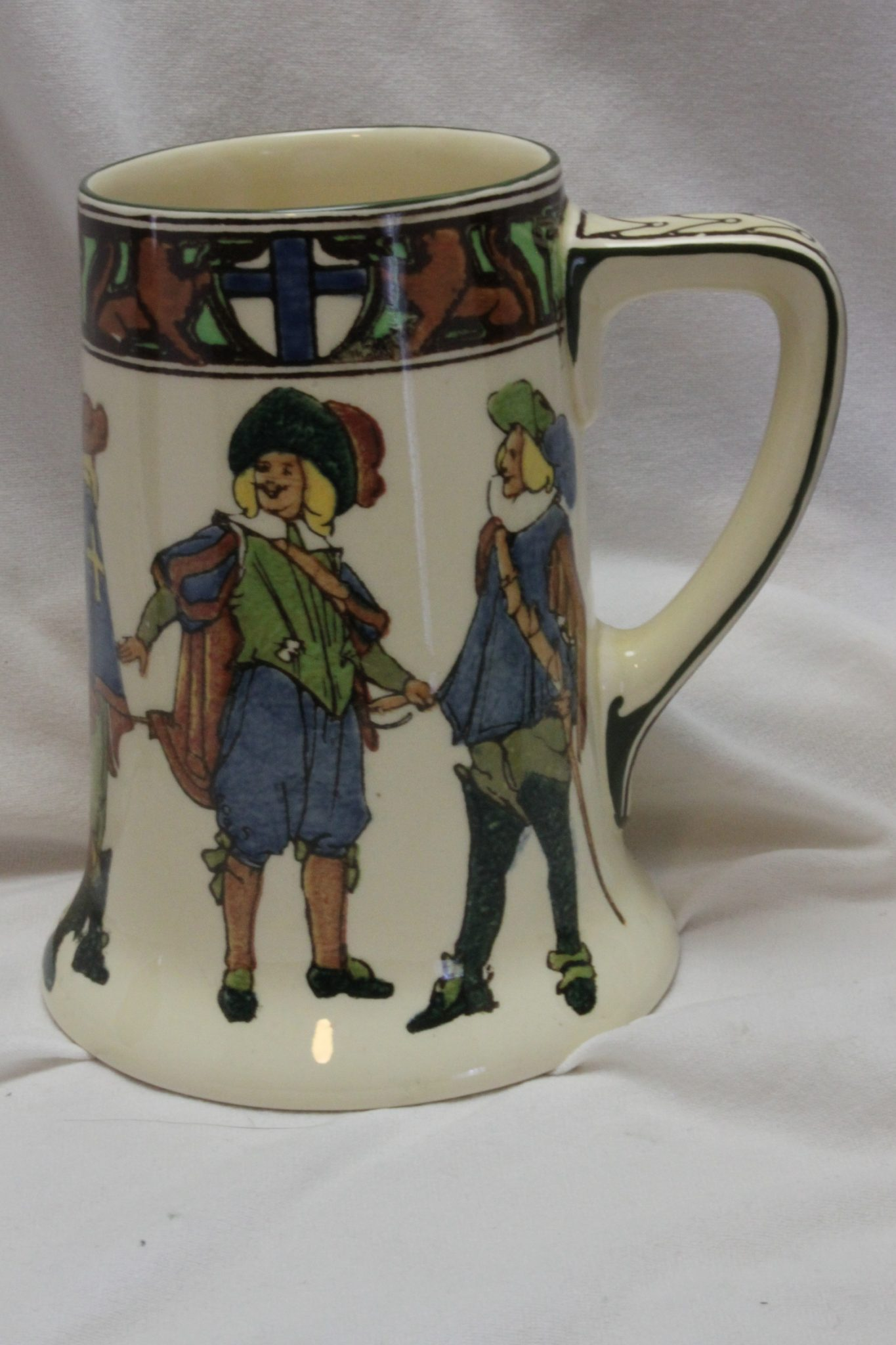 Royal Doulton New Cavaliers stein D4749