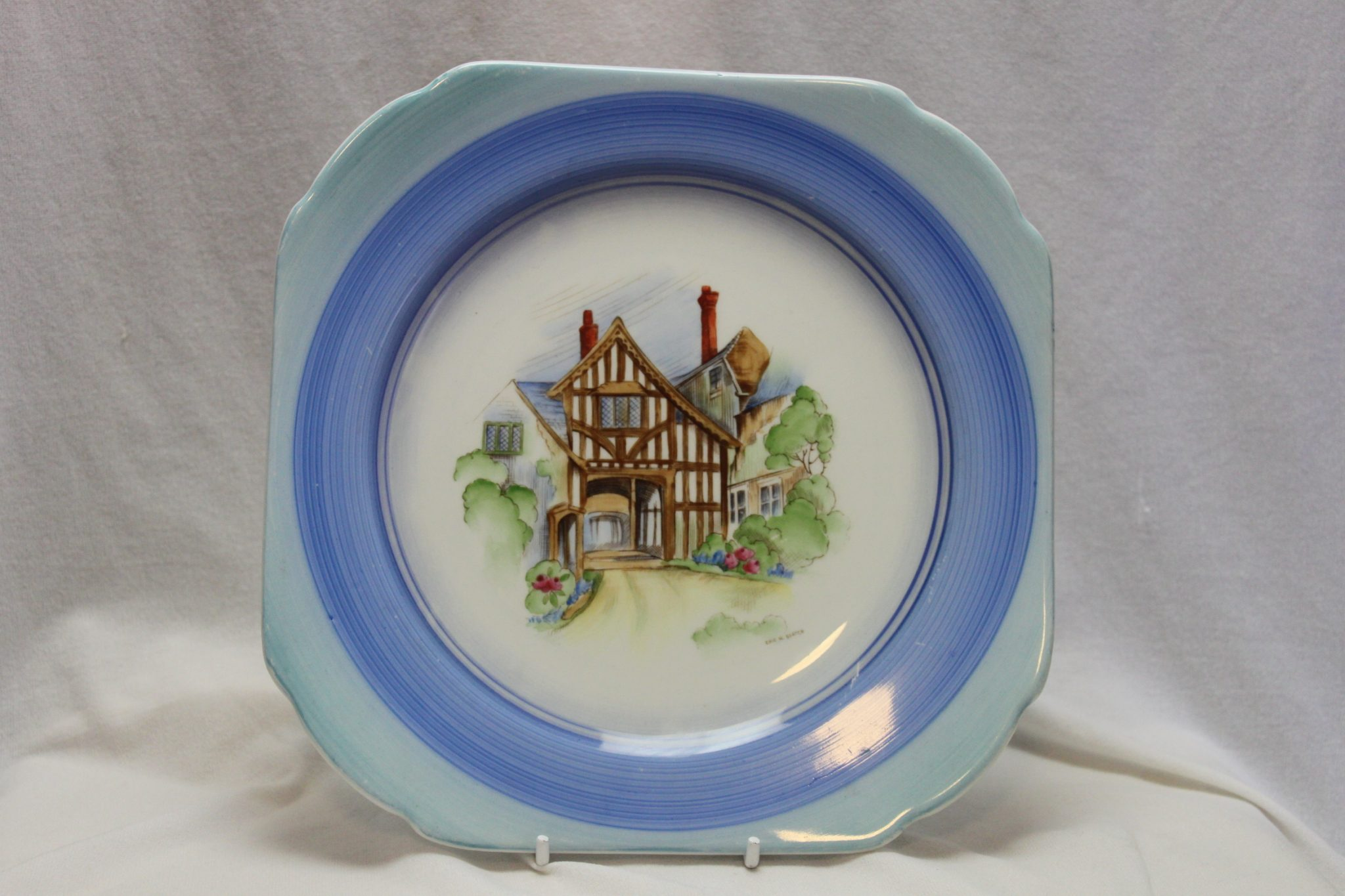 "Shelley ""Old England"" plate"