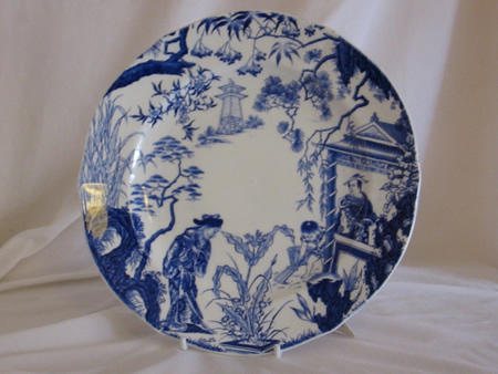 "Royal Crown Derby ""Mikado"" plate"