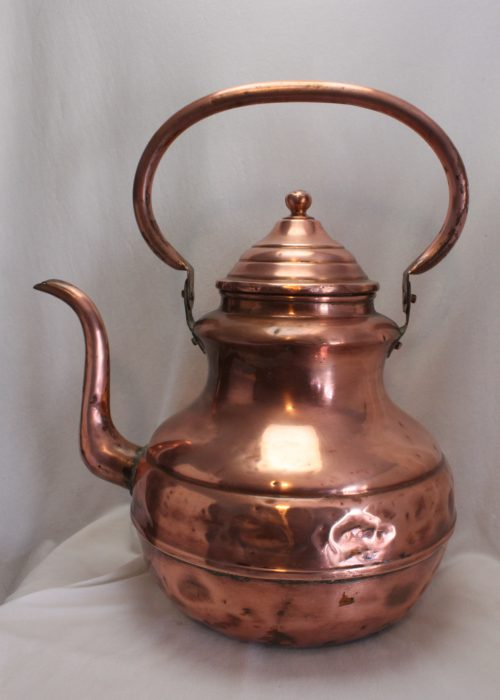 Antique copper coffee pot