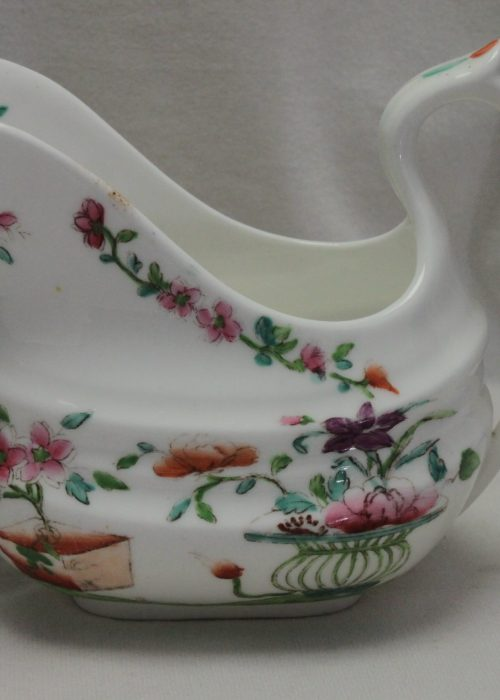 Ridgway hand coloured milk jug decorated with pattern 2/643