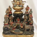 Japanese travelling shrine or zushi