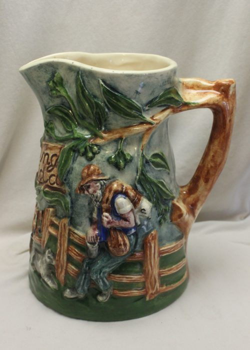 Waltzing Matilda jug by Diana Pottery