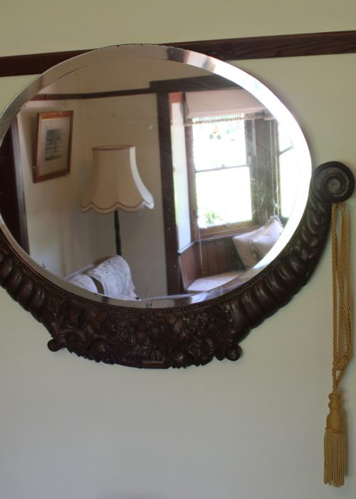 French Art Deco wall mirror