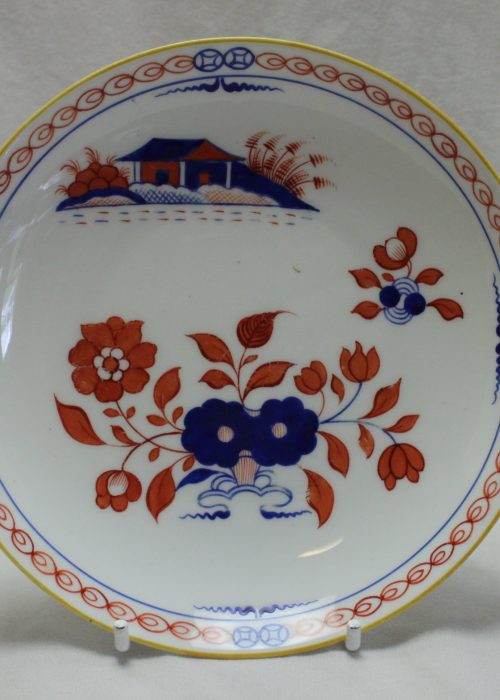 Ridgway hand painted saucer pattern 399