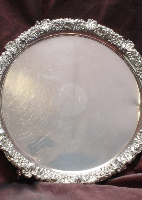 Old Sheffield Plate card tray