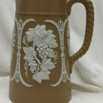 Dudson sprigged jug with rope handle