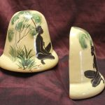 Martin Boyd pottery bookends
