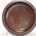 Blackwood fruit bowl or comport