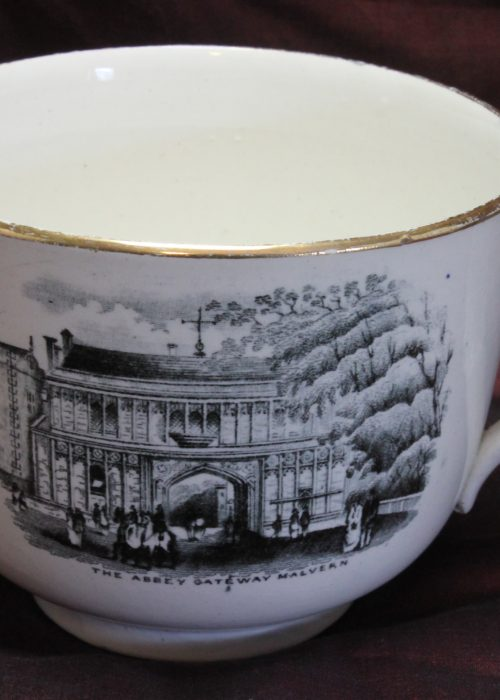 Large souvenir cup from Malvern Worcestershire