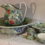 Jug and basin wash set