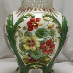 Copeland vase hand painted by Thomas Sadler