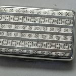 Sterling silver box by Nathaniel Mills & Sons