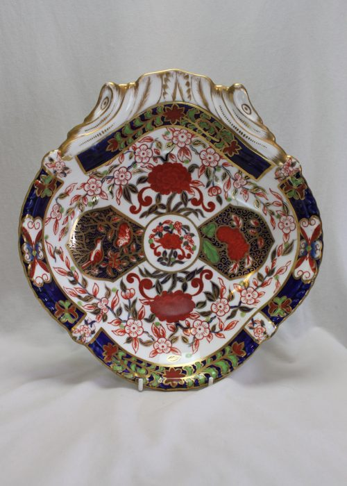 Crown Derby Imari pattern serving dish pattern 198