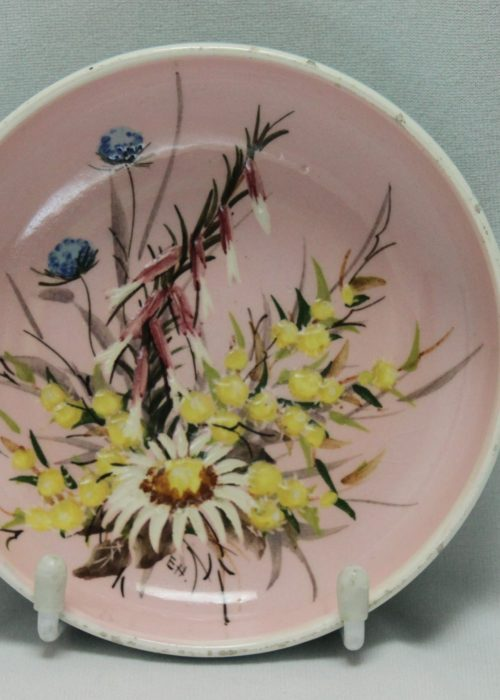 Guy Boyd painted dish