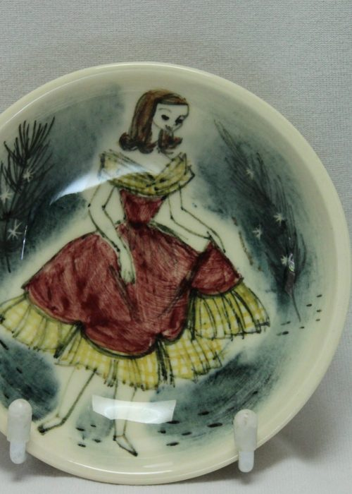 Martin Boyd hand painted pin dish