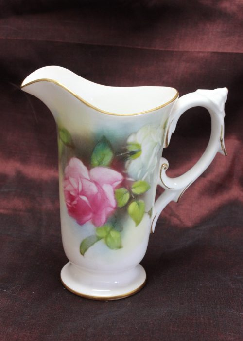 Royal Worcester hand painted jug