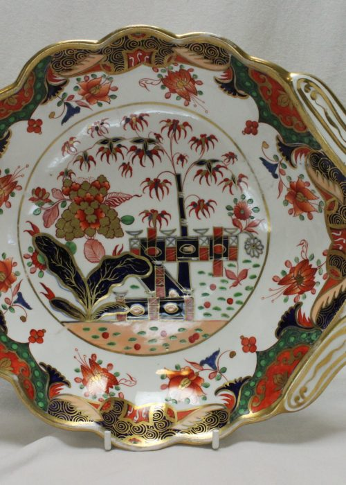 Spode dish decorated with pattern 967