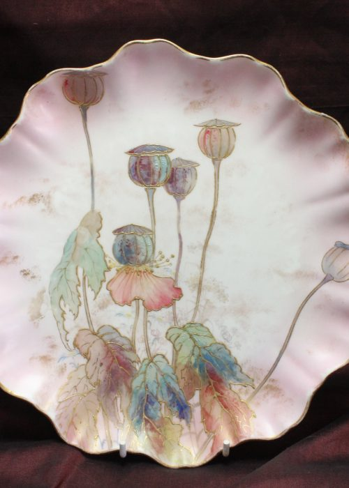 Doulton Burslem Spanish Ware painted plate