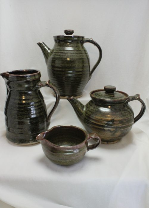 Harold Hughan 10 piece tea and coffee set