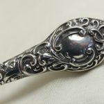 Sterling silver handled shoe horn Chester 1903